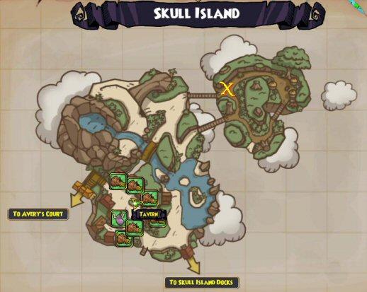 Skull Island - Bananas
