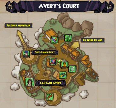 Skull Island - Avery's Court