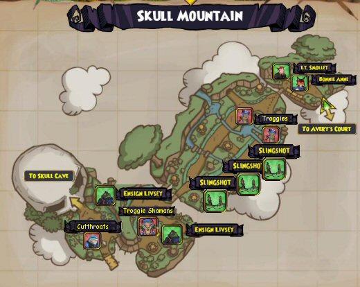 Skull Island - Skull Mountain