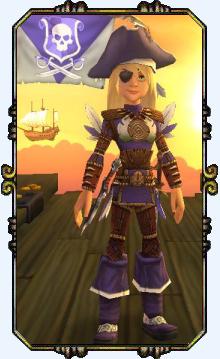 Captain Scarlett HawkinsLevel 15 Witchdoctor
