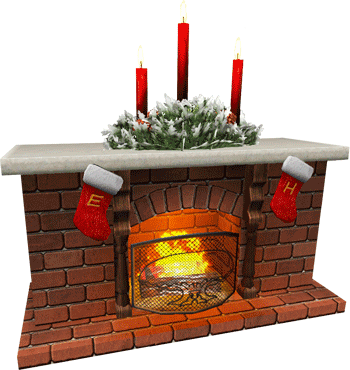 holiday-fireplace
