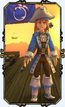 Charming Victoria HobbesLevel 1 Musketeer