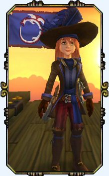 Captain Victoria Hobbes Level 8 Musketeer