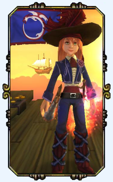 Captain Victoria Hobbes Level 17 Musketeer