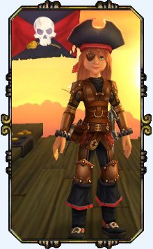 Captain Victoria Stuart Level 11 Privateer