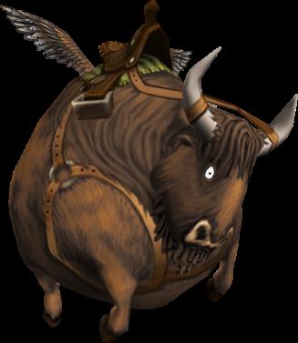 buffaloon-mount