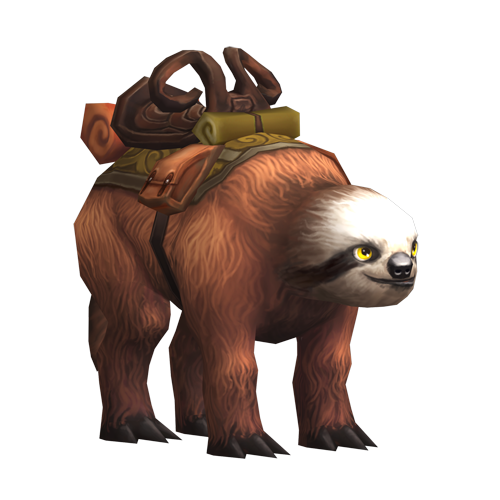 The Slowpoke Sloth Mount - For A Limited Time! (1/2)
