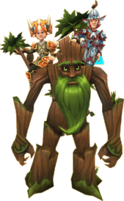 Special Two Person Treant Mount