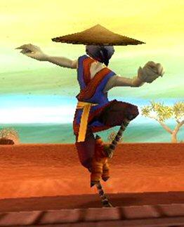 Wing Chun Crane Student