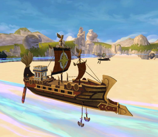 Captain Jack Teach's Aquila Galleon