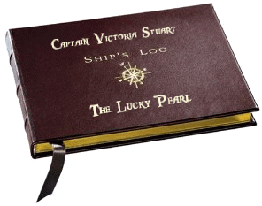 Captain's Log Victoria Stuart On The Lucky Pearl