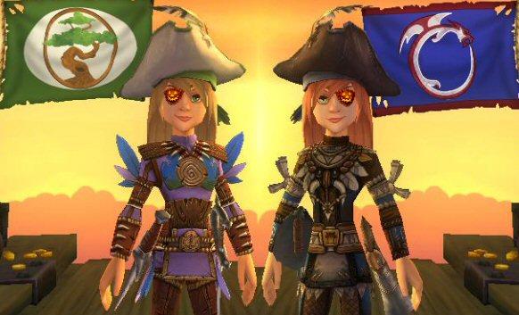 Captain Victoria Hawkins and Captain Victoria Hobbes