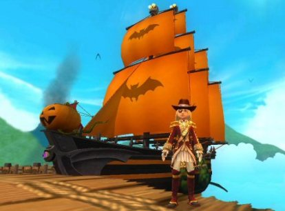 Captain Victoria Briston & The Ghost