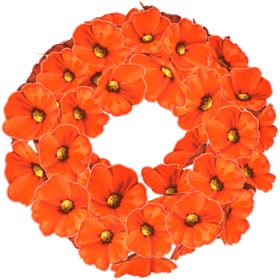 poppy-wreath