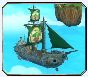 The Grand Garnet Light Skiff - Pirate Origin
