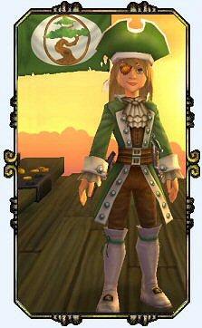 Captain Victoria Hawkins Level 8 Buccaneer