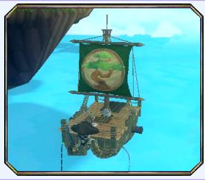 The Grinning Shrimp Raft - Pirate Origin