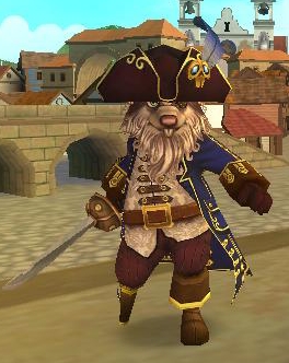 Ratbeard Rat Captain